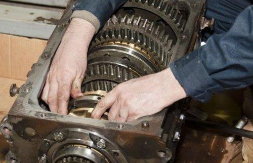 ремонт редуктора моста автомобиля